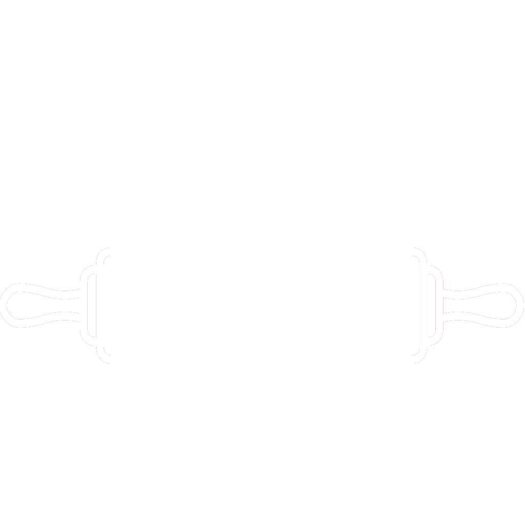 Menù su misura. Dal set THE KITCHEN, l'icona mattarello BIANCA, creata da Wojciech Zasina [www.be.net/wzasina] e usata su www.cucinodite.it da Giorgio Giorgetti, personal chef Varese Como Milano Lombardia