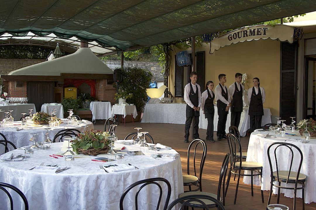 Ristorante Il Gourmet - Bergamo Alta, scattata da Giorgio Giorgetti, personal chef a Varese