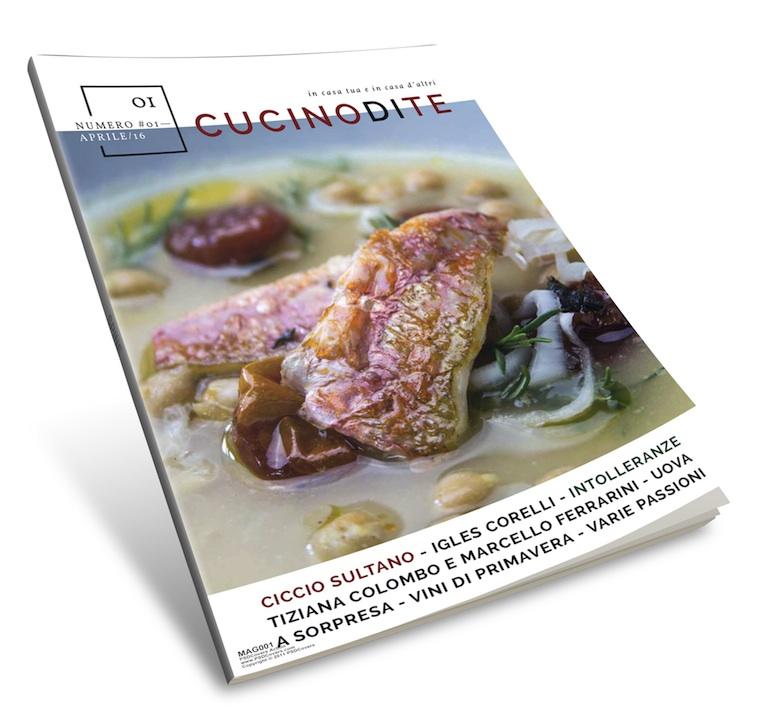 La mia rivista di cucina cucino di te for Rivista di programmi domestici