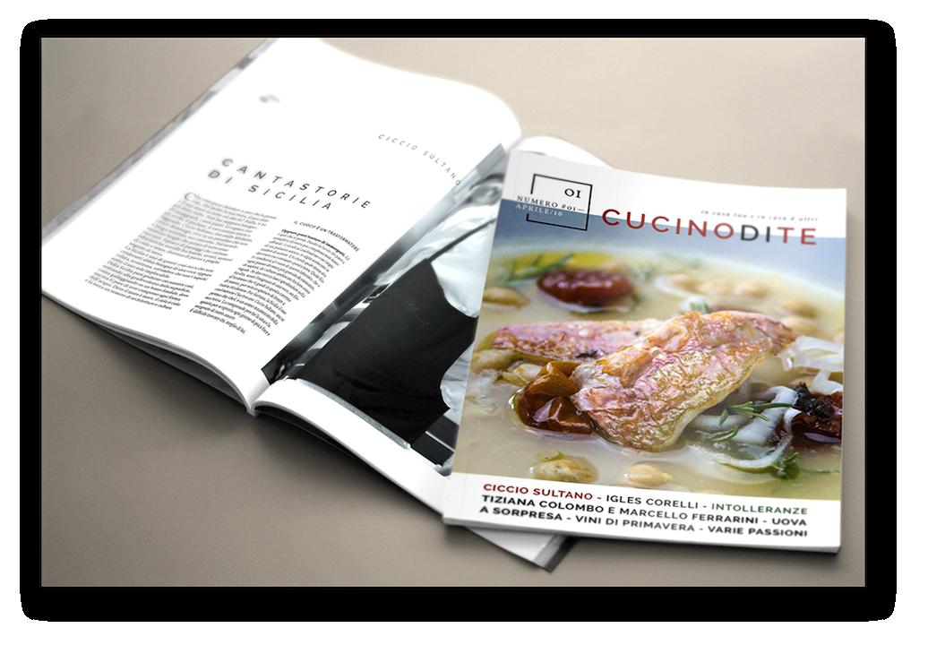 rivista Cucinodite - aprile 2016, scritta e diretta da Giorgio Giorgetti, cuoco a domicilio su Varese, Como, Milano, Canton Ticino
