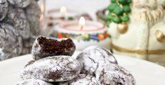 biscotti di natale americani gluten free al cacao